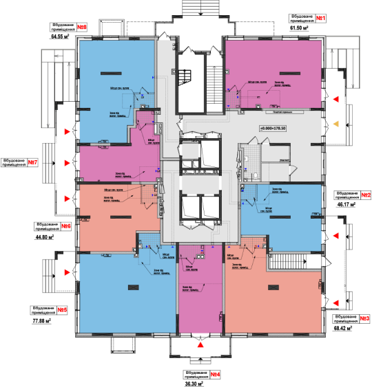 Генеральний план | ЖК Академ-Квартал